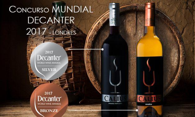 Dos vinos de la Bodegas CHP han sido premiados en el concurso Decanter, Inglaterra