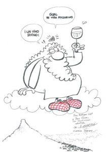 """Con esta otra ilustración José Luis Martín """"nos llevó al cielo"""""""
