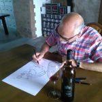 La historia de un dibujo muy especial para Bodegas CHP