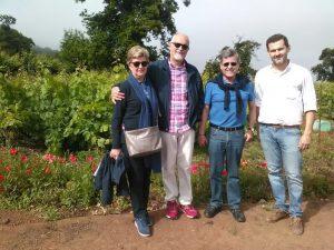 JLMartin y familia en Bodegas CHP